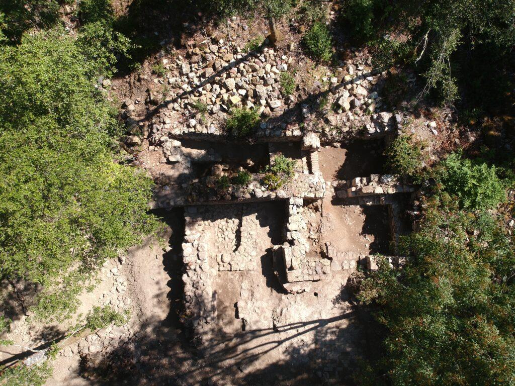 Panoramica scavo Caldanelle