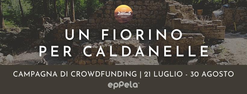 Campagna di crowdfunding Un fiorino per Caldanelle