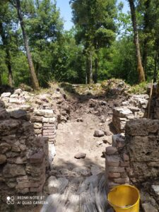 Diario di scavo delle Caldanelle, giorno 1